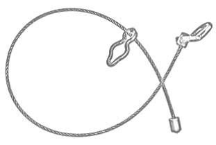 чокер с фигурным кольцом